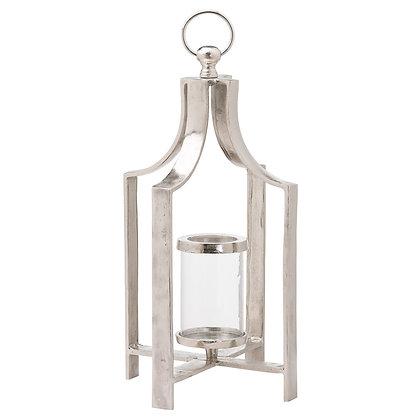 Ohlson Silver Large Tea Light lantern