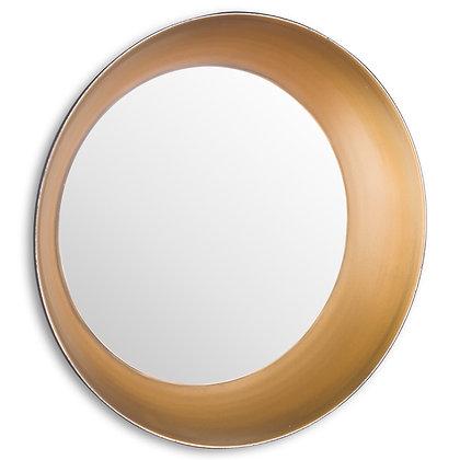 Devant Small Gold Rimmed Mirror
