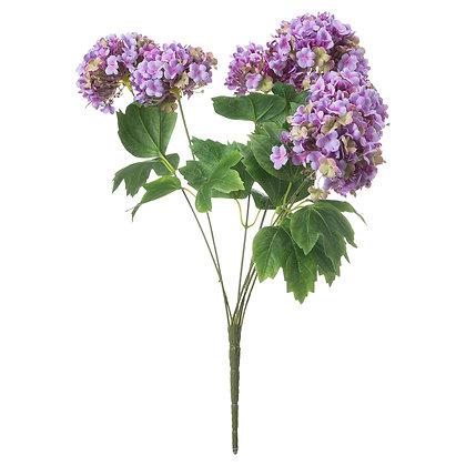 Vibrant Purple Viburnum Style Spray