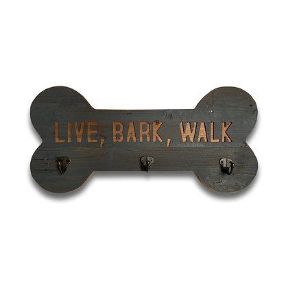 Grey Wash Live Bark Walk Lead Hook