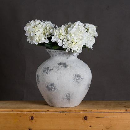 Downton Large Antique White Vase