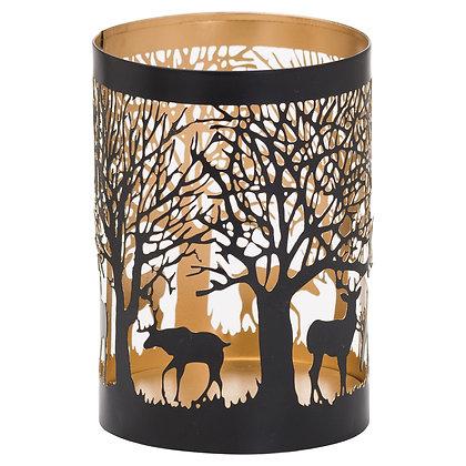 Medium Glowray Stag In Forest Lantern
