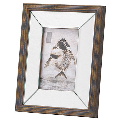 Titan Mirror And Wood 4X6 Frame