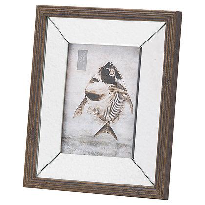 Titan Mirror And Wood 5X7 Frame