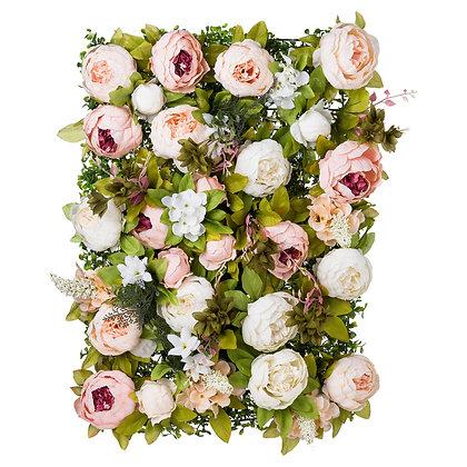Peony Flower Wall