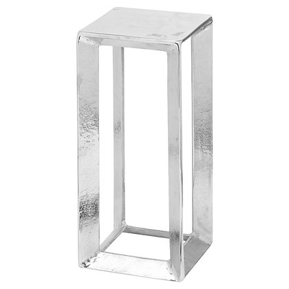 Small Cast Silver Plant Stand