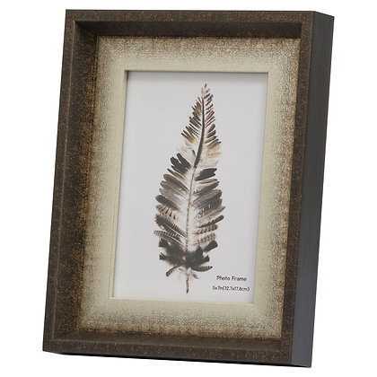 Dorchester 5X7 Frame With Silver Inlay