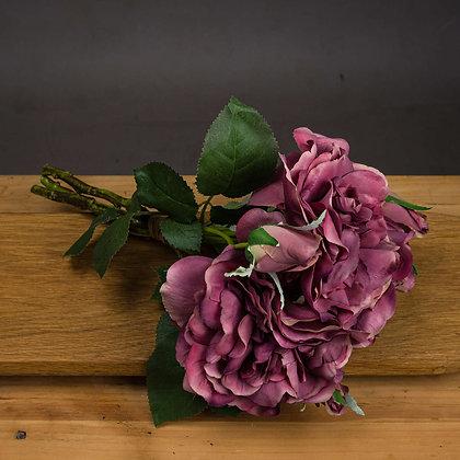 Dusty Pink Short Stem Rose Bouquet