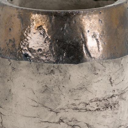 Metallic Dipped Large Planter