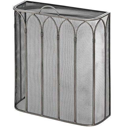 Gothic Antique Pewter Firescreen