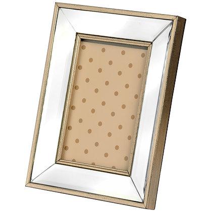 Rectangle Mirror Bordered Photo Frame 5x7