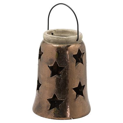 Evi Antique Bronze Large Star Lantern