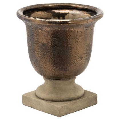 Evi Antique Bronze Urn Vase