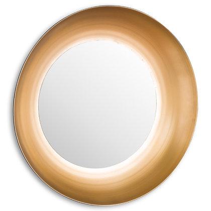 Devant Large Gold Rimmed Mirror