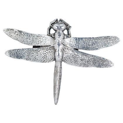 Antique Silver Dragonfly Decorative Clip