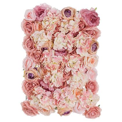 Blush Pink Flower Wall