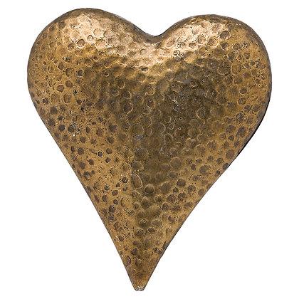 Evi Antique Bronze Heart