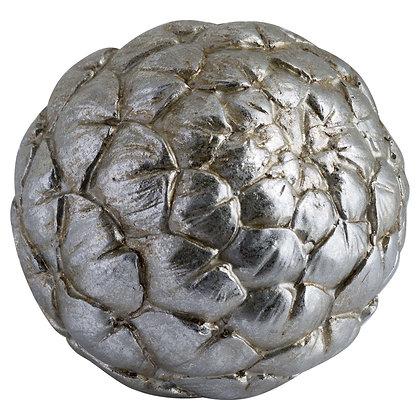 Large Silver Artichoke Decoration