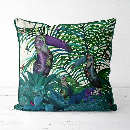 Andigena Tropical Toucans Cushion