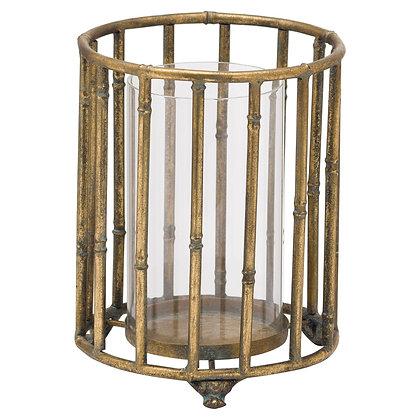 Metallic Bamboo Lantern