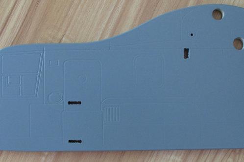 Forward profile fuselage