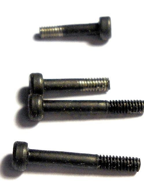Solid shank fastener set