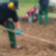 Vertikulieren, Erde lockern, Rasen