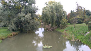 Fluß Thaya, Schlosspark Lednice