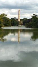 Aussichtsturm, Minarett, Turm Höhe 60m, Lednice, Schlosspark, Kulturlandschaft