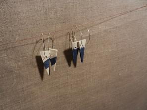 boucle d'oreille triangle 20€