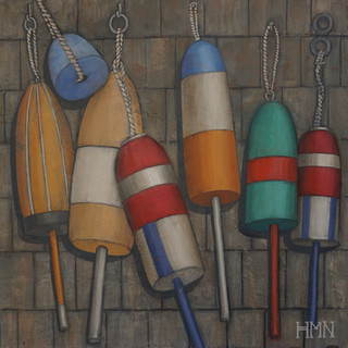 Buoys on Shingles