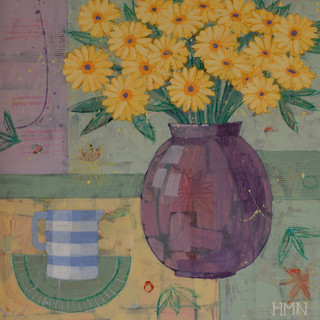Yellow and Blue - SOLD