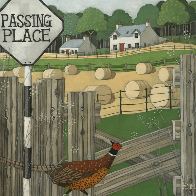 Just Passing Through - SOLD