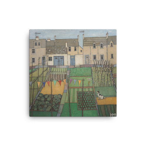 Canvas Print: The Allotment Dog