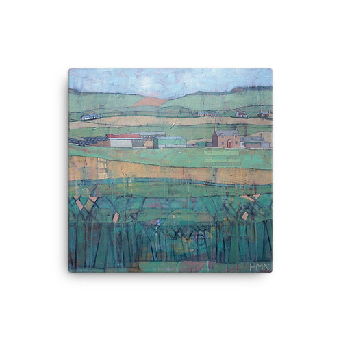 Canvas Print: Summer in Galloway