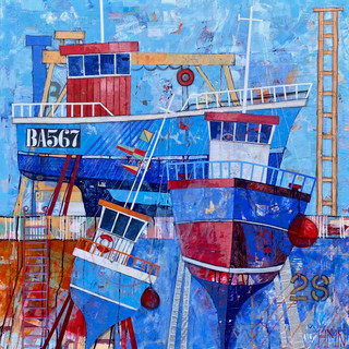 Blues in the Boatyard