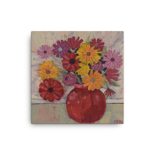 Canvas Print: Mad Blooms