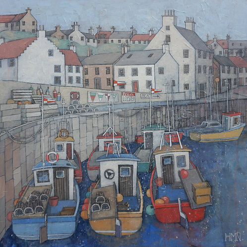 Three Abreast at Crail - Currently available at CollierDobson, SP6 1AX