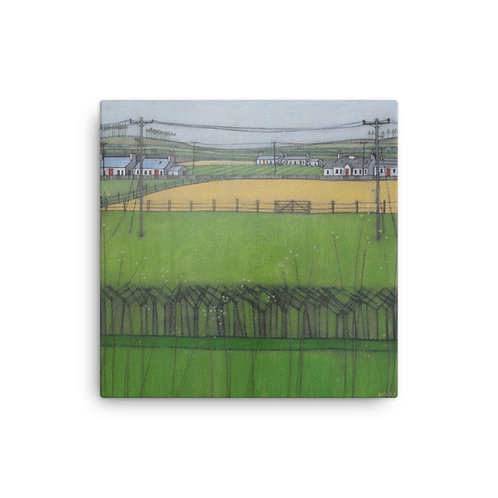 Canvas Print: Galloway Summer