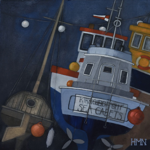 Evening Boats - SOLD