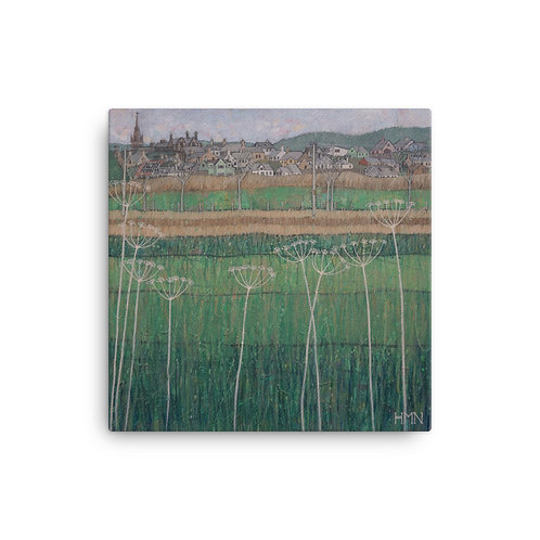 Canvas Print: Kirkcudbright from the Isle