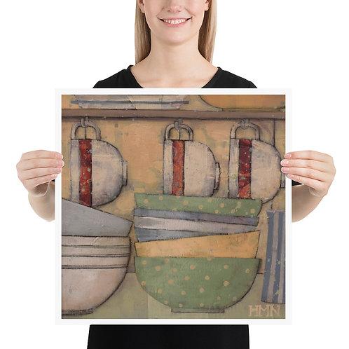 Print: Kitchen Corner