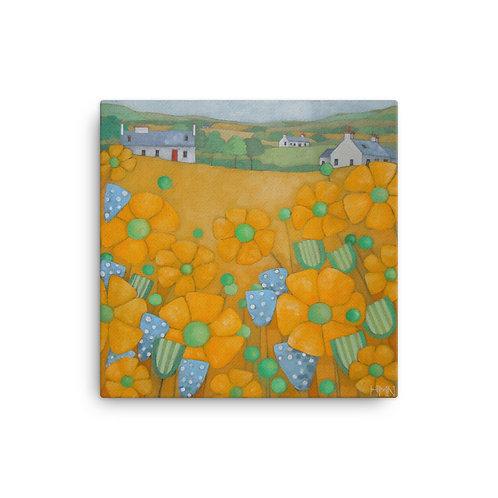 Canvas Print: Summer Fields