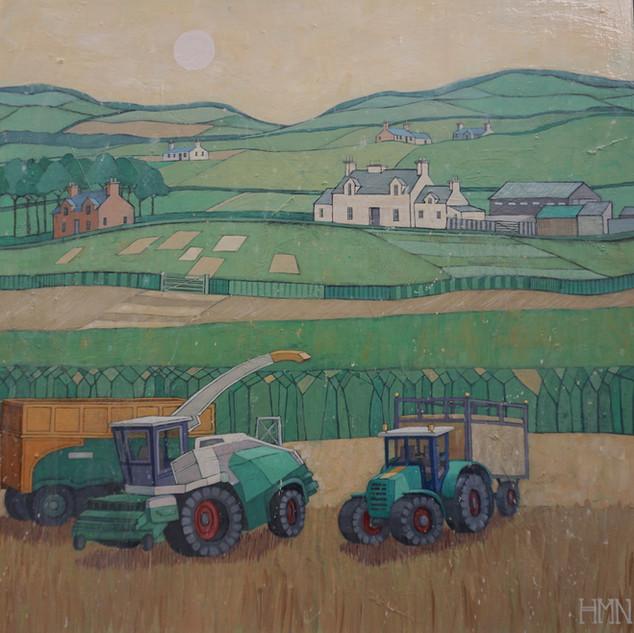 Tractors' Tea Break