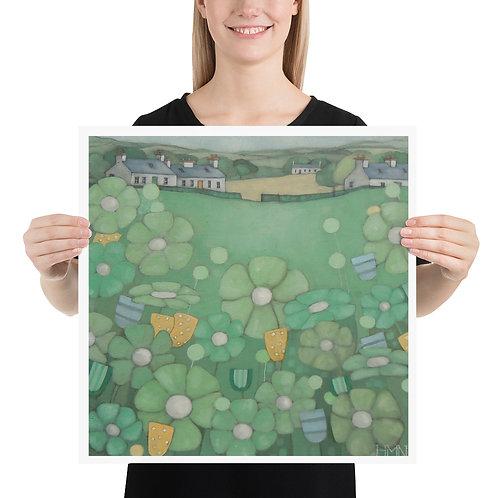 Print: Spring Fields