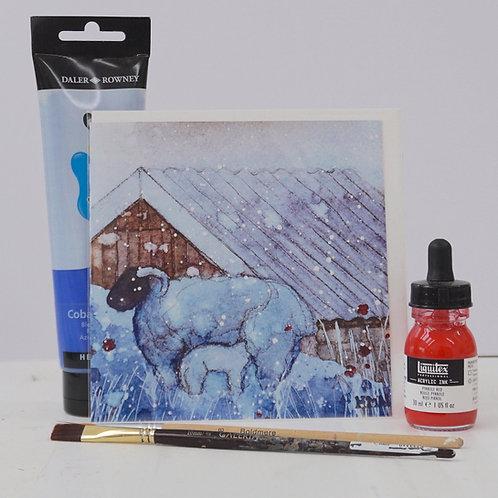 "Art Card of ""Bardristane Lamb"""