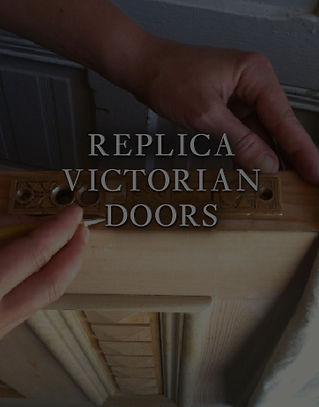 Raven manufactures the 16 replacement Victorian doors featured here in our catalog in San Francisco.