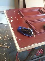 How Raven Restoration restores a Victorian door Part 1