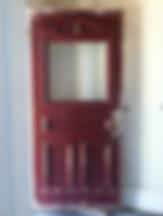 How Raven Restoration repair a wooden door step 2