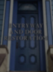 antique Victorian door restoration & repair in San Francisco. Victorian facade restoration parts